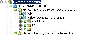 Резервное копирование Exchange с помощью Arcserve Backup
