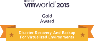award 2015 vmworld disaster recovery